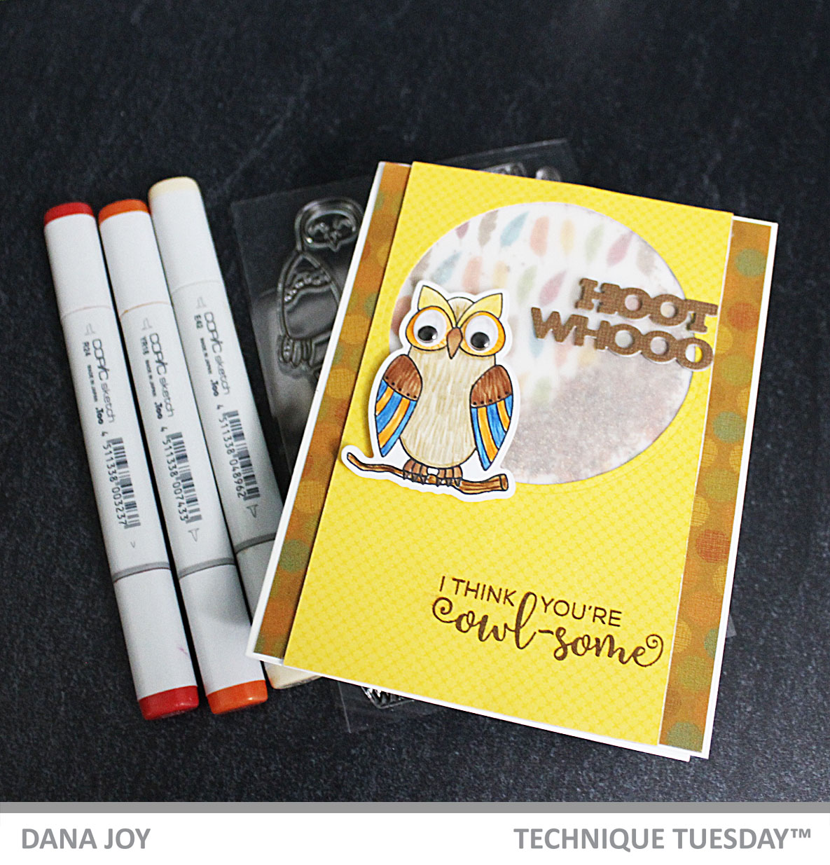 World Cardmaking Day Blog Hop Technique Tuesday