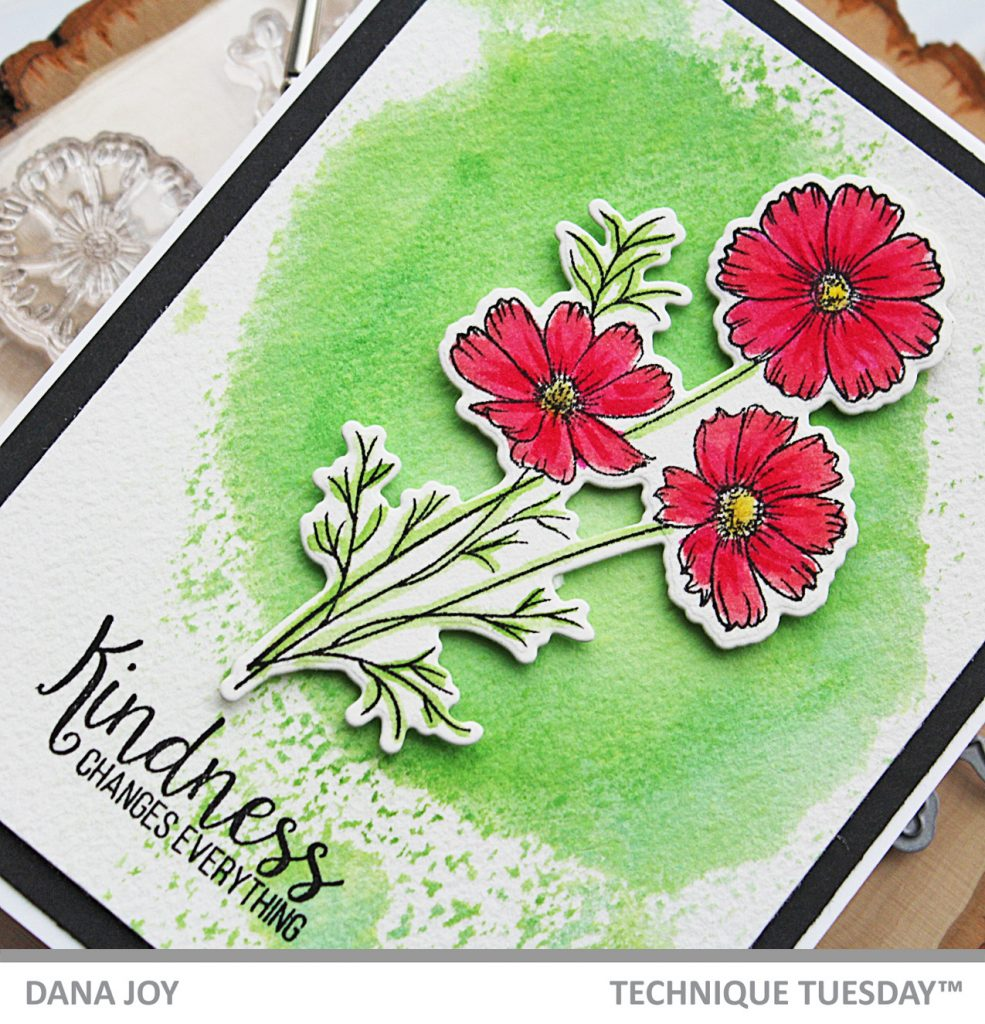 Kind Cosmo stamp set from Technique Tuesday