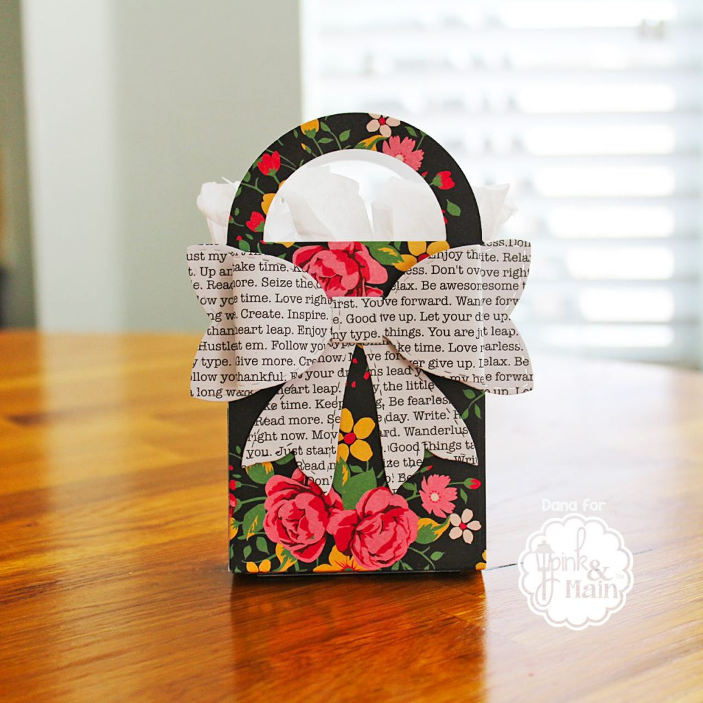 Pink and Main Gift Bag diecut