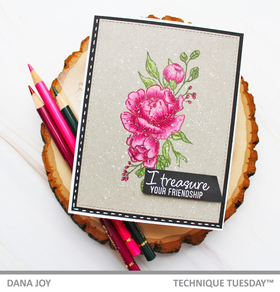 Technique Tuesday Fresh Peonies