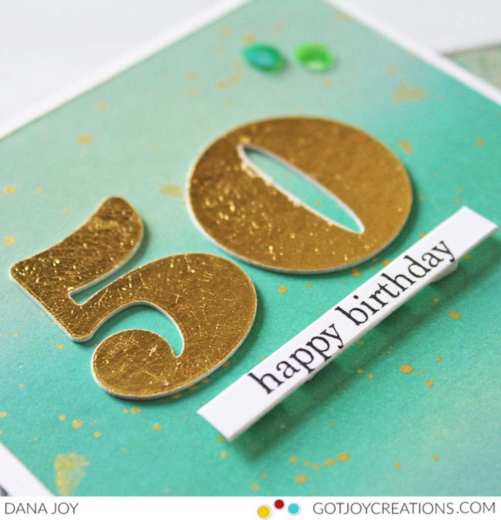 Deco Foil St. Patrick's Day Birthday Card