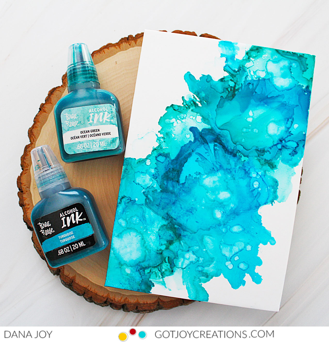 Brea Reese Alcohol Inks