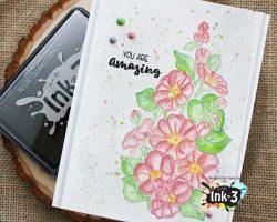 Hollyhocks InkOn3