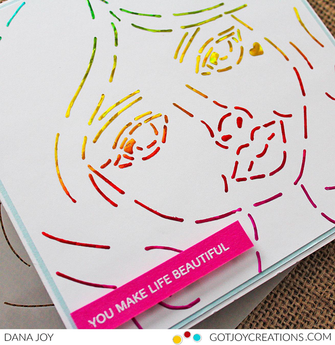 Rita Barakat Sweet Sisters Hearts Stencil