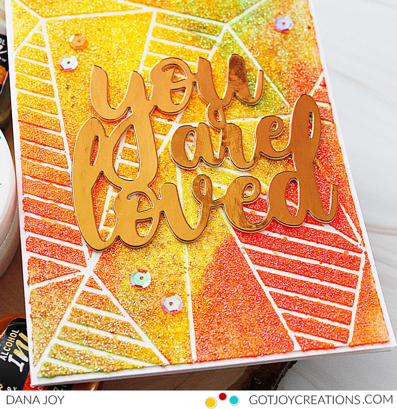 Gina K. Designs Glitz Glitter Gel