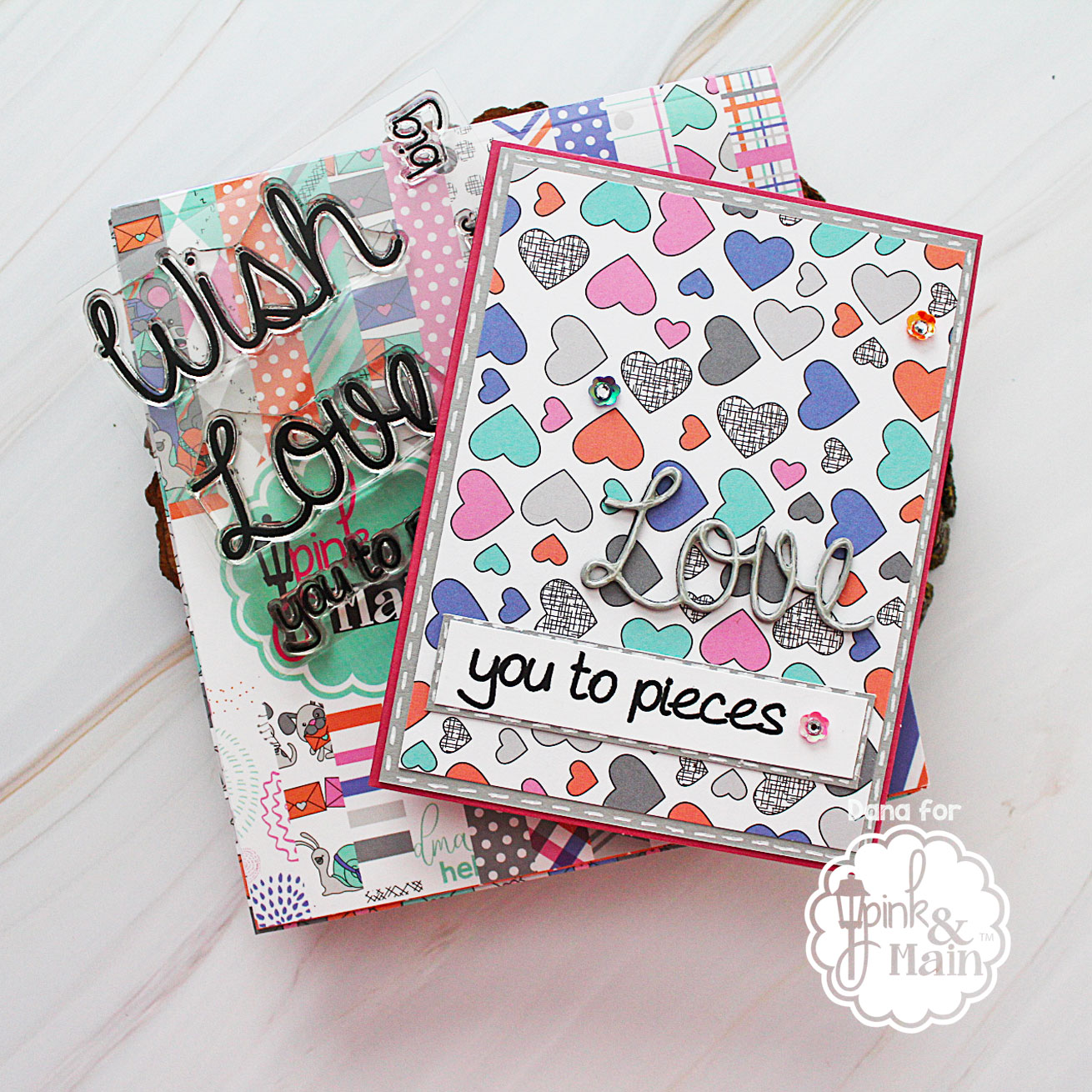 Paper Sweeties and Pink and Main Birthday Blog Hop