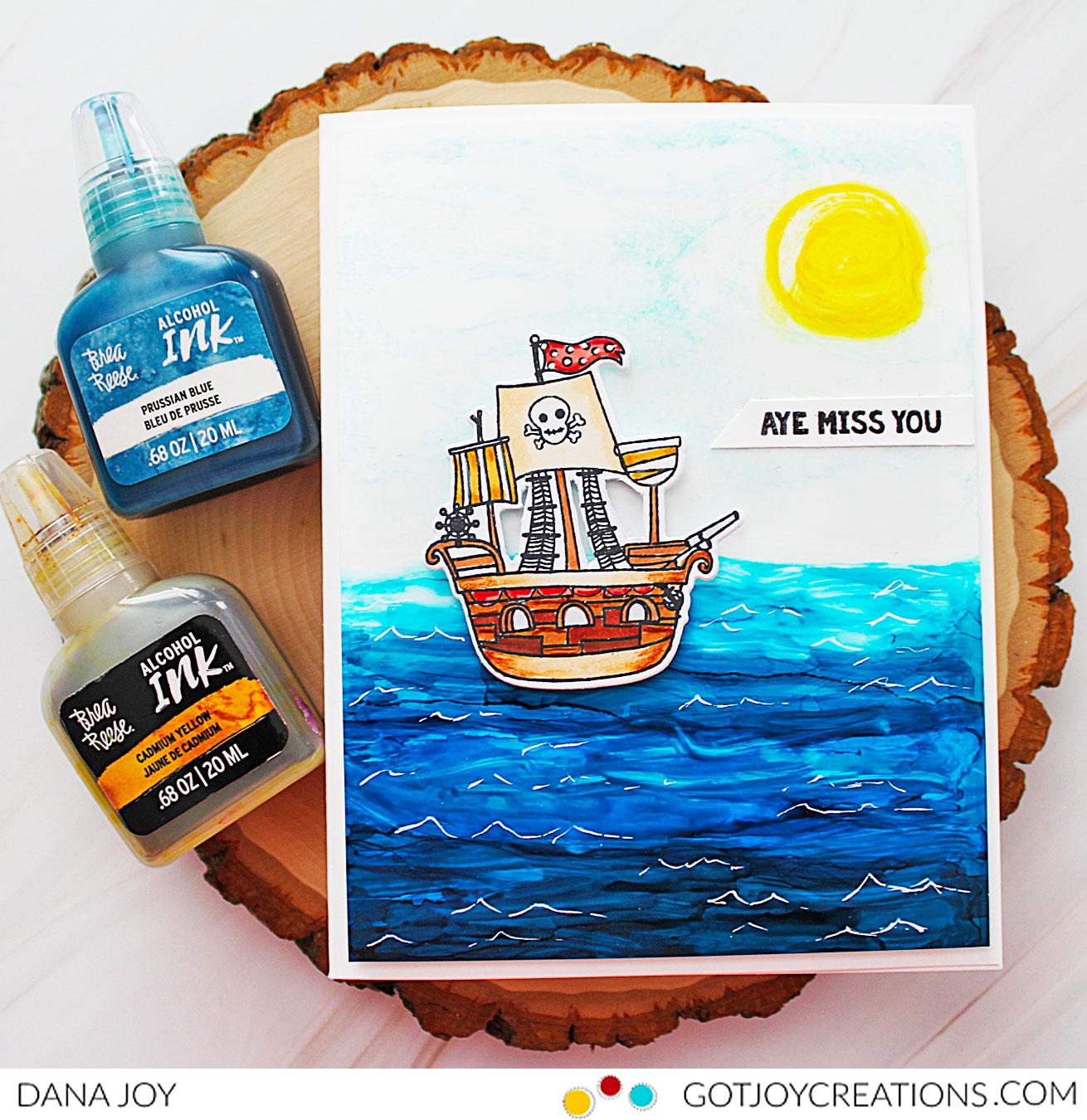 Brea Reese Pirate Friendly Sea