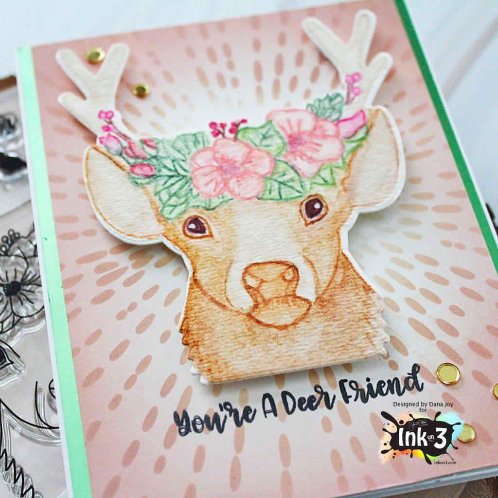 Ink On 3 Oh Deer