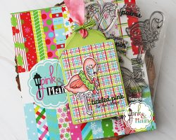 Pink and Main Holiday tag