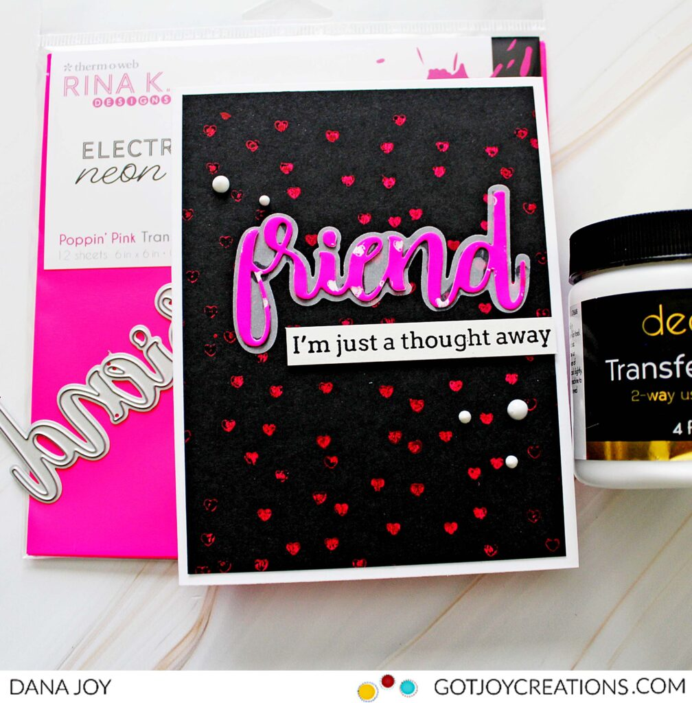 Rubber Stamps and Deo Foil Transfer Gel Duo