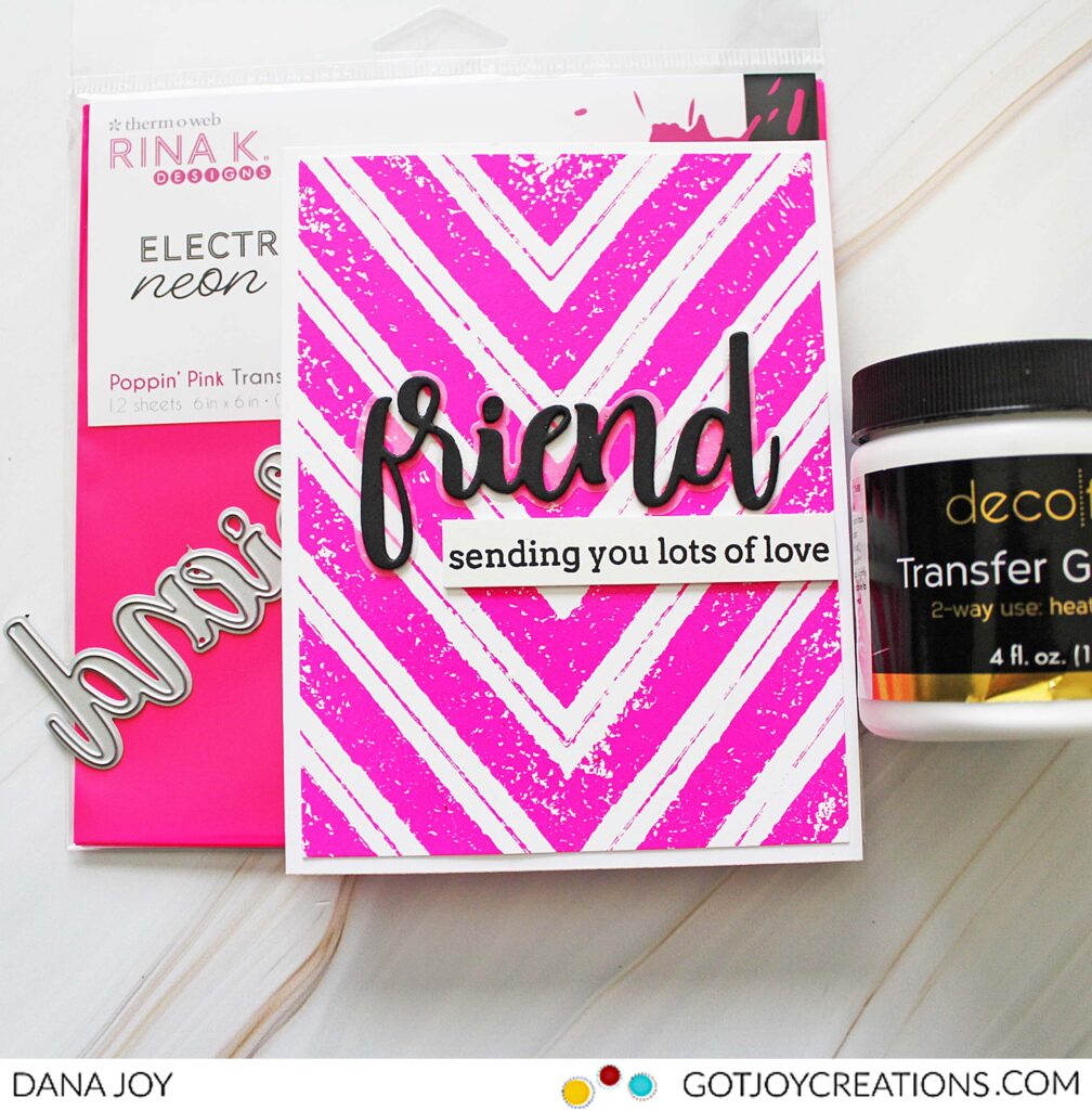 Rubber Stamps and Dedo Foil Transfer Gel Duo