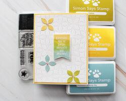 Simon Says Stamp Detail Petal Plate
