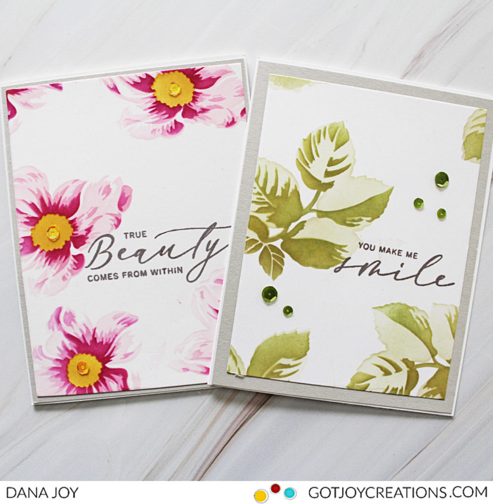 Altenew Beauty Within Simple Coloring Stencil