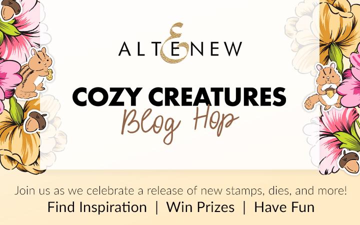 Altenew oozy Creatures blog Hop