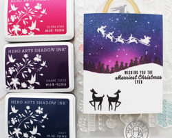 Night Sky Holiday Card