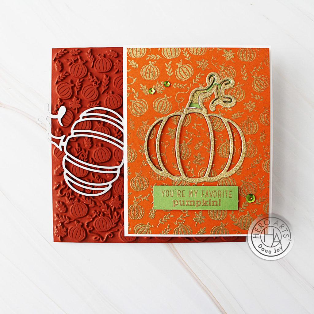 Hero Arts Pumpkin Patch