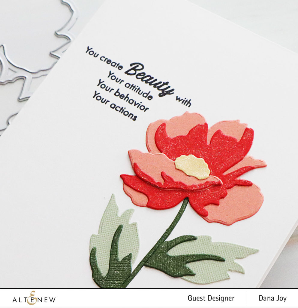 Altenew Craft-a-Flower Poppy