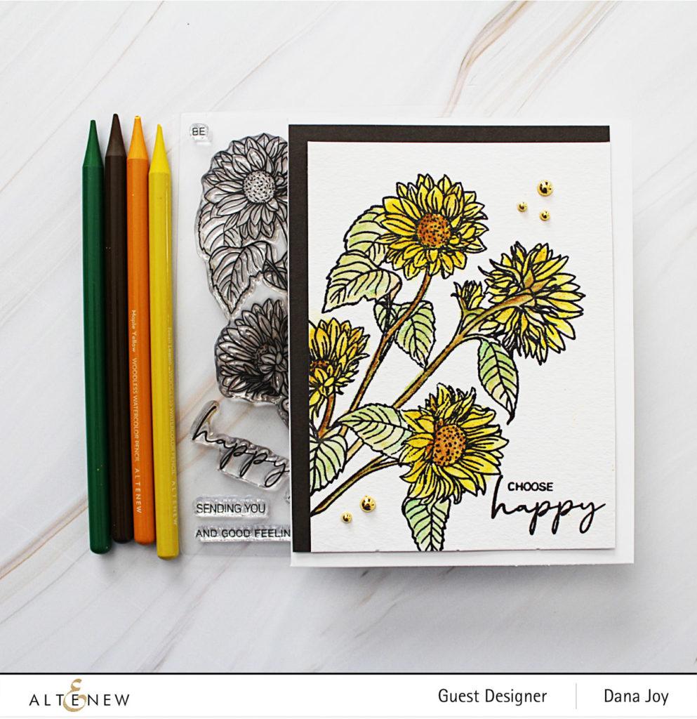 Altenew Paint-A-Flower Sunflower