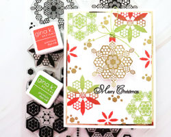 Gina K Designs Holiday Hexagons and Sentimental Holiday