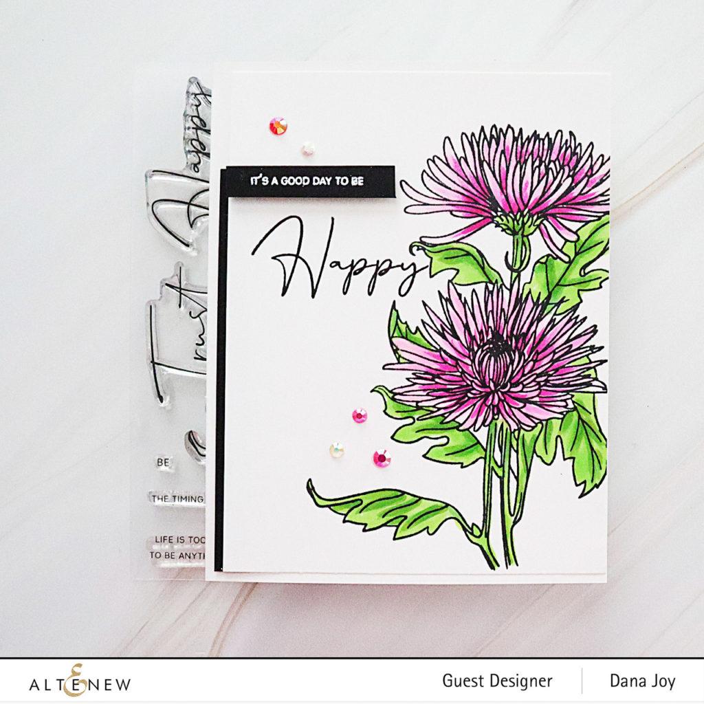 Altenew Paint A Flower Spider Mum