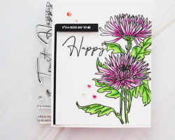 Altenew Paint A Flower Spider Mum