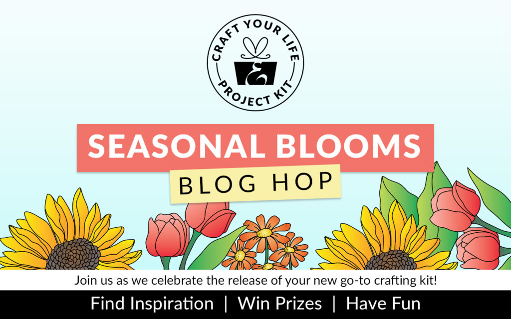 Altenew Craft Your Life Project Kit: Seasonal Blooms Release Blog Hop + Giveaway