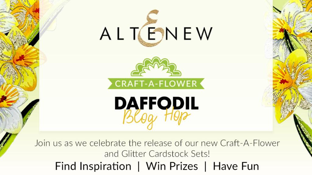Altenew Craft-A-Flower Daffodil