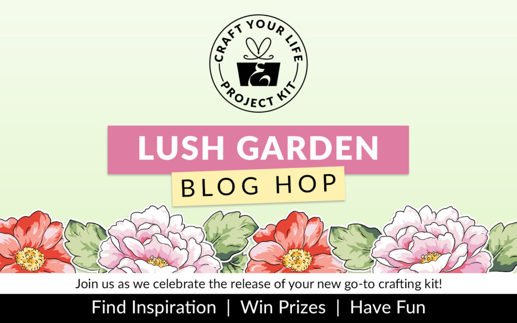 Craft Your Life Project Kit Lush Gardens