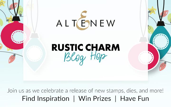 Altenew Rustic Charm Blog Hop