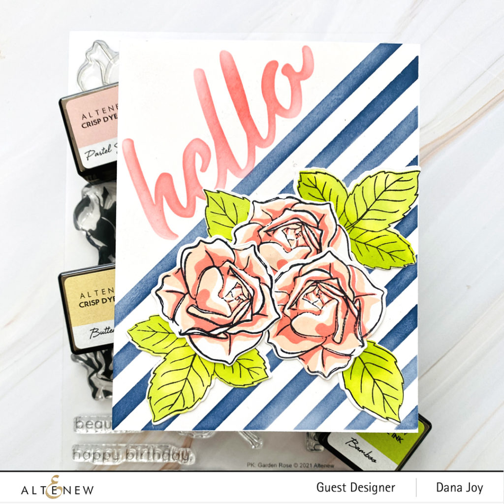Altenew Craft Your Life Project Kit: Garden Rose